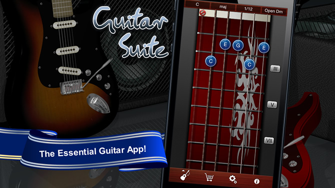 Guitar Suite for iOS